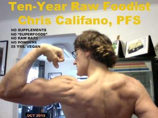 raw deception cooked food myths live vegan vegetarian Long Island New York muscle building